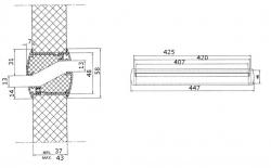 Купить Renson Silendo дверную переточную решётку в Москве и области